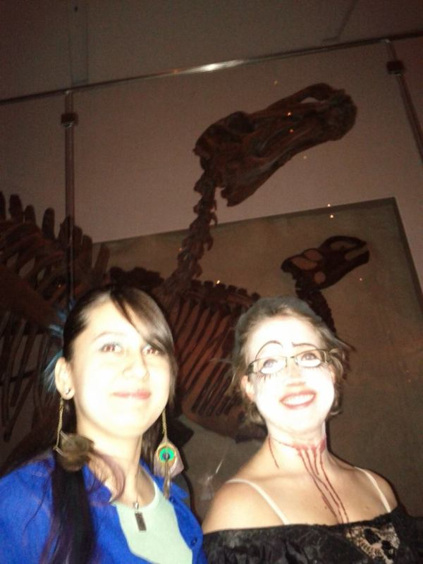 Dinosaurs - Friday Nights at the ROM, in full costume only happens once a year, and it is MAGICAL